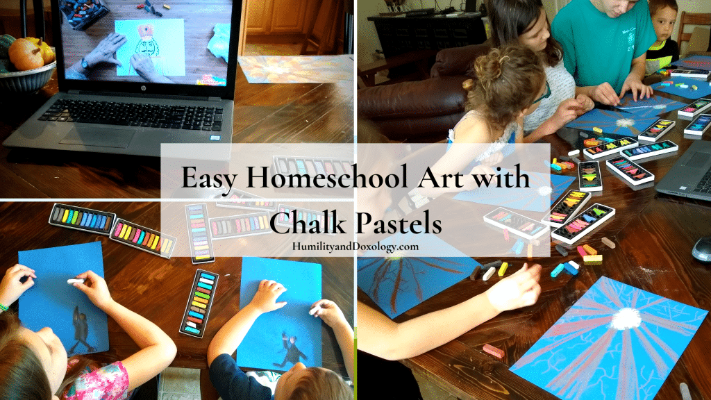 easy homeschool art lessons chalk pastels online