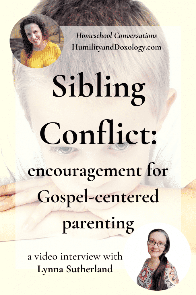 Sibling Conflict Parenting Solutions Homeschooling Lynna Sutherland interview