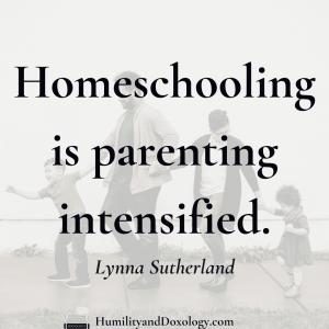 Parenting homeschooling sibling conflict Lynna Sutherland interview