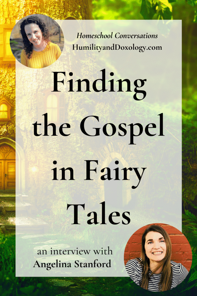 Angelina Stanford interview on fairy tales