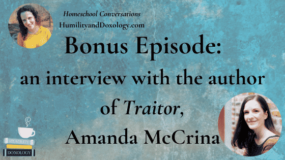 Amanda McCrina author of YA WW2 novel Traitor interview