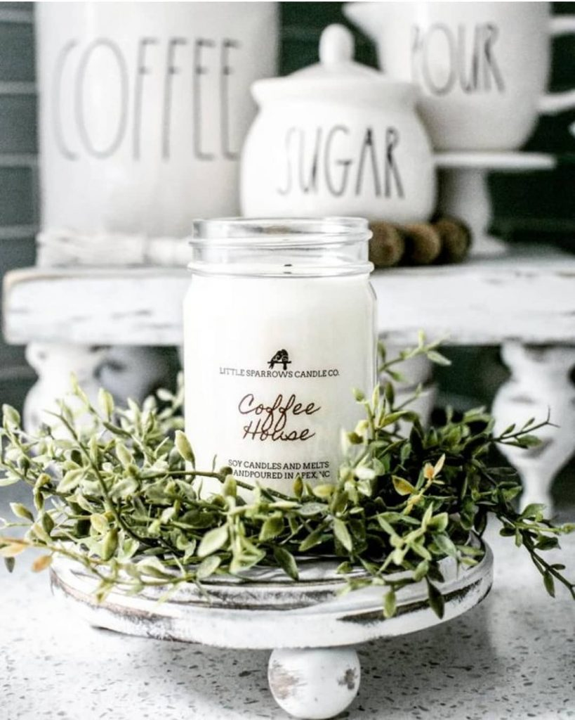 unique gift ideas for mom coffee soy candle