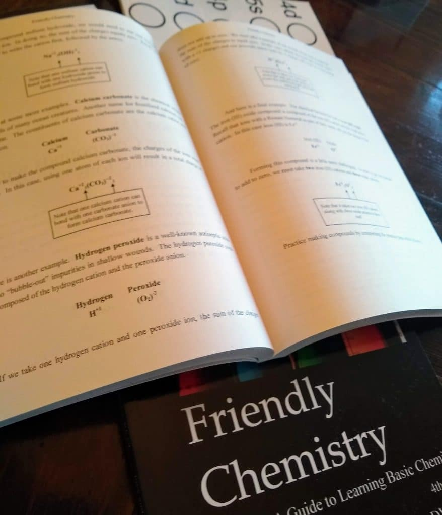 Friendly Sciences high school homeschool curriculum review Friendly Chemistry