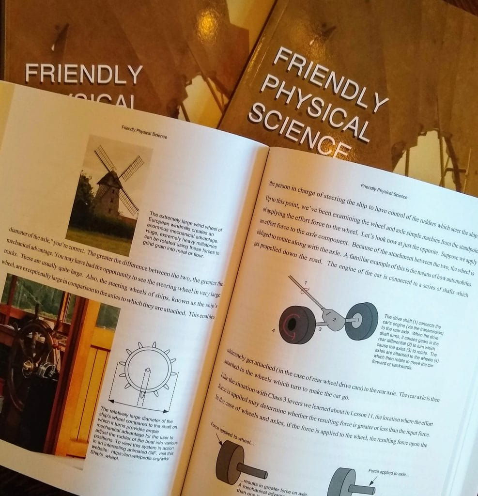 Friendly Sciences high school homeschool curriculum review Friendly Physical Science