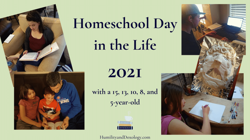 homeschool day in the life 2021