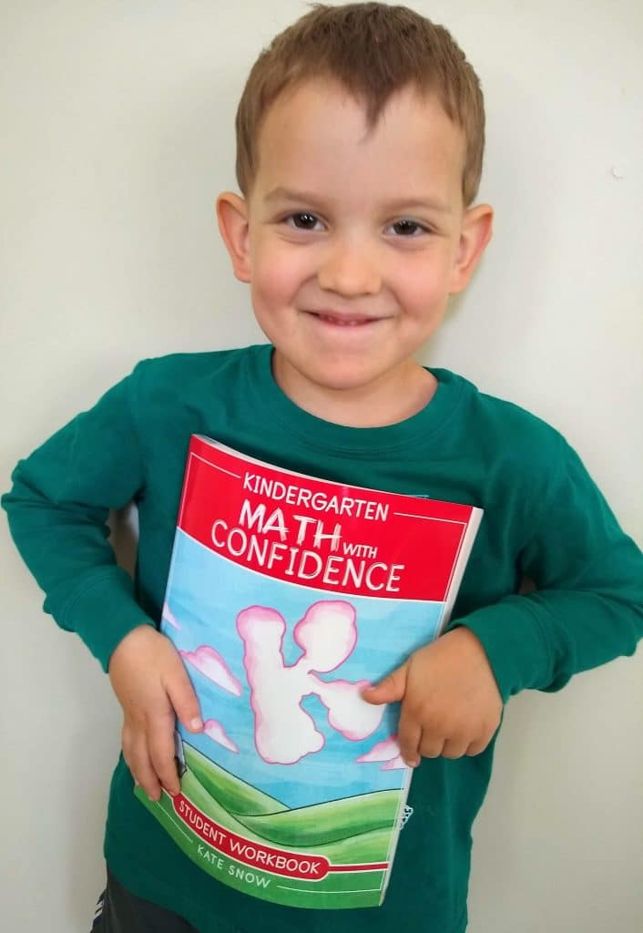 Kindergarten Math with Confidence by Kate Snow homeschool math curriculum review