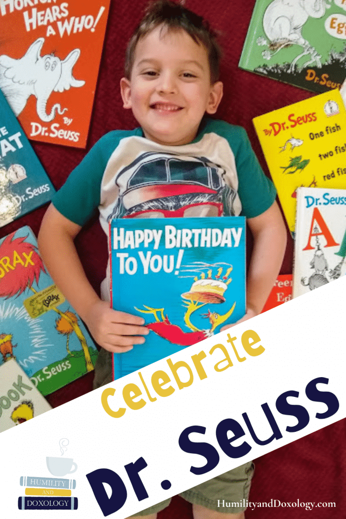 Dr. Seuss Birthday Bash Celebrate Seuss party, game, book ideas and resource round up for your homeschool!