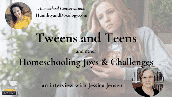 Jessica Jensen homeschool encouragement