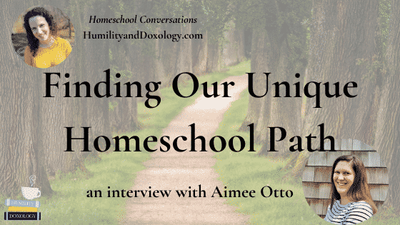 Homeschool Compass Homeschool Conversations podcast Aimee Otto