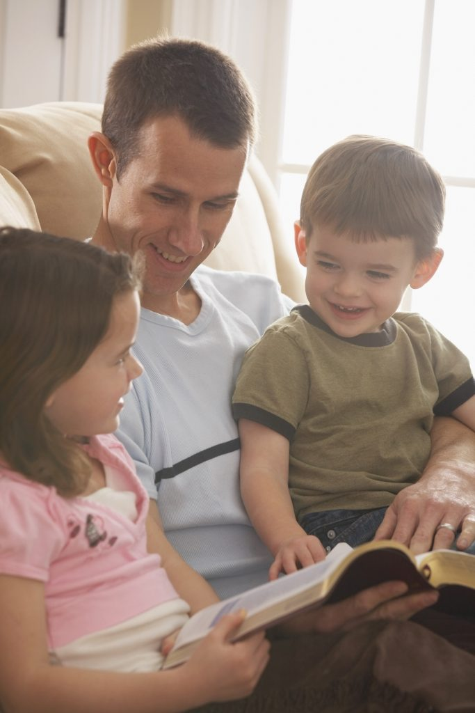 teaching your child the bible in your homeschool